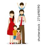 family design over white... | Shutterstock .eps vector #271698590