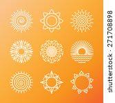 vector summer concepts in... | Shutterstock .eps vector #271708898