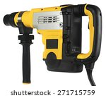 professional rotary hammer  on... | Shutterstock . vector #271715759