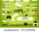 potato cultivation ... | Shutterstock .eps vector #271729598