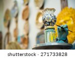view of a ceramic pot from...   Shutterstock . vector #271733828