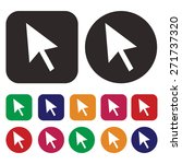 arrow icon   Shutterstock .eps vector #271737320