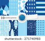 vector illustration of a set of ...   Shutterstock .eps vector #271740983
