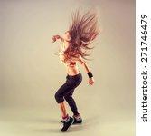 studio shoot of active female... | Shutterstock . vector #271746479
