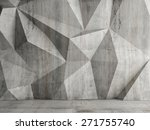 Abstract Concrete Wall...