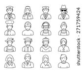 People Icons. Professions