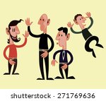 friends and family | Shutterstock .eps vector #271769636