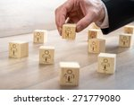 customer managed relationship... | Shutterstock . vector #271779080