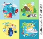 air  caravaning  camping ... | Shutterstock .eps vector #271780430