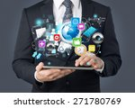 market  marketing  news. | Shutterstock . vector #271780769