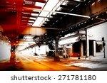 urban scene at chicago | Shutterstock . vector #271781180