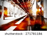 urban scene at chicago | Shutterstock . vector #271781186