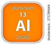 aluminium material on the...   Shutterstock . vector #271789664