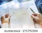 credit report concept   Shutterstock . vector #271792304