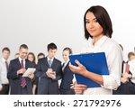 business  women  occupation. | Shutterstock . vector #271792976