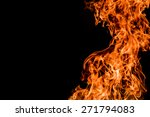 fire flame background | Shutterstock . vector #271794083