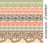 Set Of Decorative Borders...
