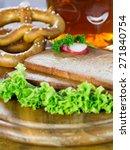 back hearty meatloaf | Shutterstock . vector #271840754
