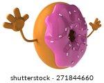 fun donut | Shutterstock . vector #271844660