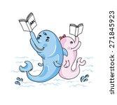 cartoon character set | Shutterstock .eps vector #271845923