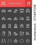 transportation  logistics icon... | Shutterstock .eps vector #271847258