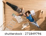 view from above  looking at the ... | Shutterstock . vector #271849796