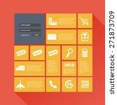 flat design concepts ui online...
