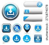 download button | Shutterstock . vector #271874078