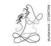 background for wedding design | Shutterstock . vector #271897346