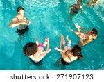 lugano  switzerland   12... | Shutterstock . vector #271907123