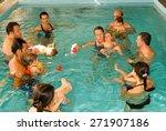 lugano  switzerland   18... | Shutterstock . vector #271907186