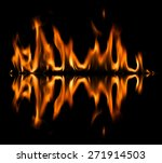 fire abstract background | Shutterstock . vector #271914503