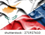 waving flag of czech republic... | Shutterstock . vector #271927610