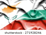 waving flag of bulgaria and... | Shutterstock . vector #271928246