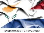 waving flag of netherlands and... | Shutterstock . vector #271928900
