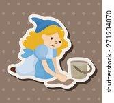 fairytale princess theme... | Shutterstock .eps vector #271934870