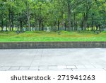 urban road with green trees   Shutterstock . vector #271941263
