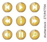 multimedia controller yellow... | Shutterstock .eps vector #271947704
