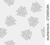 pattern geometric seamless... | Shutterstock .eps vector #272005184