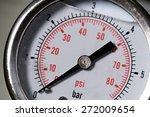 manometer turbo pressure meter... | Shutterstock . vector #272009654