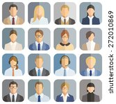 business people icons | Shutterstock .eps vector #272010869
