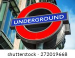 london underground sign near...