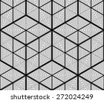 black and white illusive... | Shutterstock .eps vector #272024249