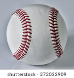 baseball isolated. clipping... | Shutterstock . vector #272033909