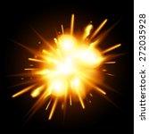 explosion | Shutterstock .eps vector #272035928