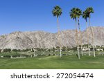 landscape with coconut trees...   Shutterstock . vector #272054474