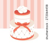 a chic vector illustration of a ... | Shutterstock .eps vector #272064458
