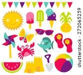 a retro vector illustration of... | Shutterstock .eps vector #272065259