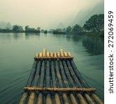 china guilin yangshuo bamboo... | Shutterstock . vector #272069459