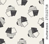 boat doodle | Shutterstock . vector #272122718